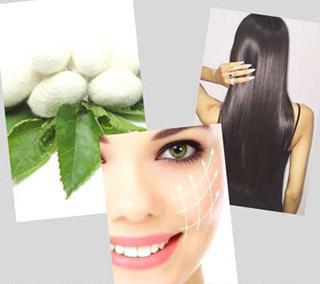 Использование аминокислот шелка в косметических целях