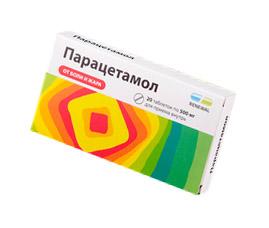 Парацетамол – это препарат первой линии лечения артроза (остеоартрита)
