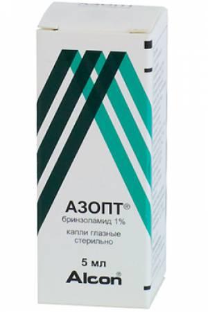 Азопт (Бринзоламид)