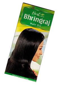 Влияние брингараджа на волосы