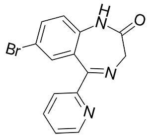 Формула бромазепама