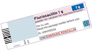 Побочные эффекты флуклоксациллина