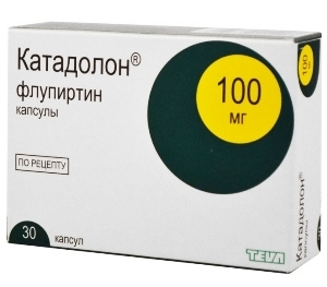 Упаковка препарата Флупиртин