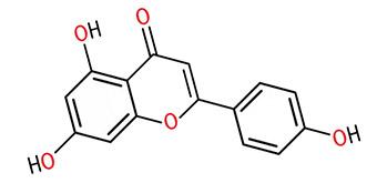 Формула апигенина