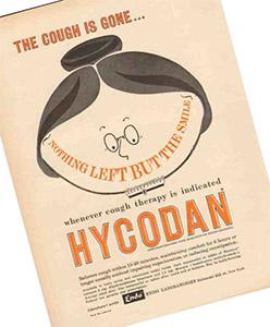 Гидрокодон был одобрен Управлением по контролю за продуктами и лекарствами 23 марта 1943 года для продажи в Соединенных Штатах и одобрен Министерством здравоохранения Канады для продажи в Канаде под торговой маркой Hycodan
