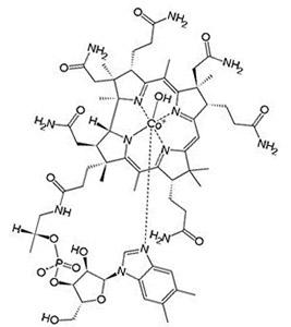 Формула гидроксикобаламин