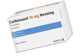 Гипертиреоз: карбимазол