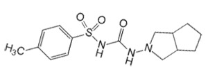 Формула гликлазида