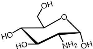 Строение глюкозамина