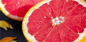 Грейпфрут является пищевым продуктом, известным высоким уровнем биоактивных компонентов, сравнимым с гранатом