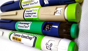 Применение инсулинов среднего, длительного действия, двухфазные инсулины