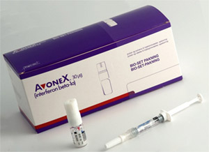 Авонекс - препарат, содержащий интерферон бета 1А