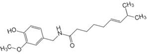 Формула капсаицина