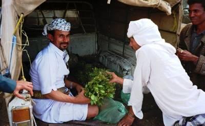 Йеменцы и кат