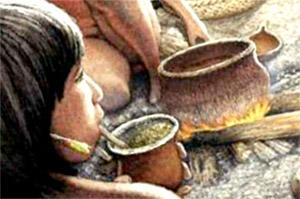 Мате впервые начинают употреблять народы Гуарани и Тупи, обитающие в южной Бразилии и Парагвае