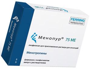 Менопур / Человеческий менопаузальный гонадотропин (ЧМГ)