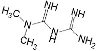 Формула метформина