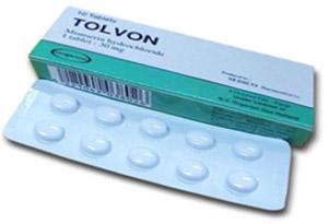 Миансерин продаётся во многих странах под торговым наименованием Толвон