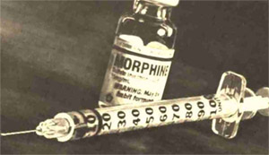 История морфина