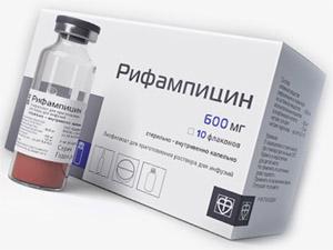 Моринга : взаимодействие с рифампицином