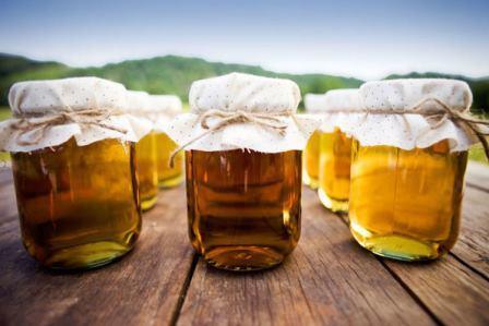 Различные виды мёда