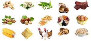 Никотиновая кислота содержится в различных пищевых продуктах, включая печень, курицу, говядину, рыбу, крупы, орехи и бобовые, а также синтезируется из триптофана, незаменимой аминокислоты, имеющейся в большинстве форм белка