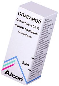 Опатанол (Олопатадин)