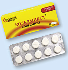 Парацетамол+Кодеин (Коделмикст)