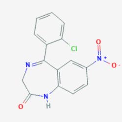 Молекула Клоназепама