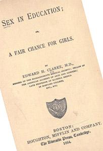Предменструальный синдром: в 1873 году Эдвард Кларк опубликовал книгу, оказавшую большое влияние на поколение, под названием «Секс в образовании»