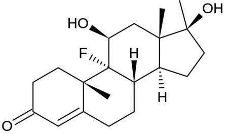 Молекула флюоксиместерона
