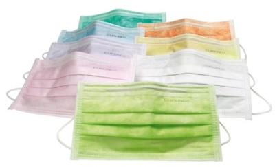 Ношение масок для лица - хорошая профилактика против заражения простудой.