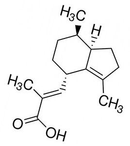 Валереновая кислота: формула