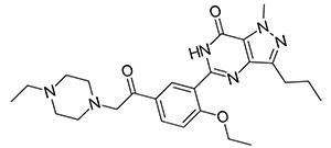 Ацетилденафил - структурный аналог Силденафила (Виагры)